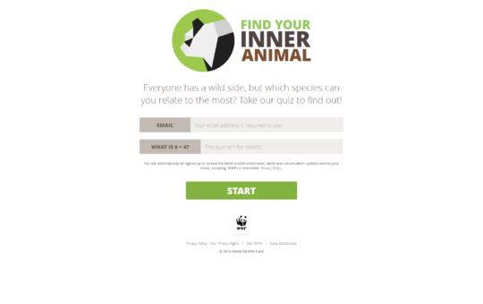 WWF-quiz. Find dit indre dyr