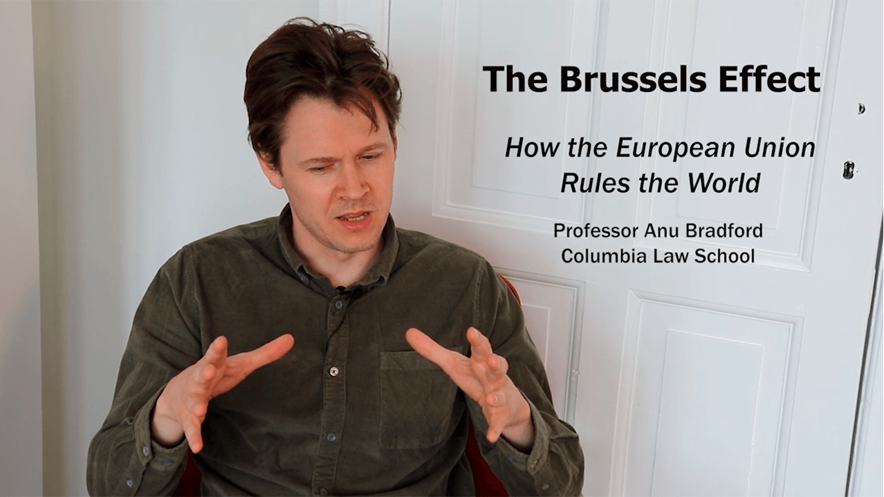 The Brussels Effect - The EU sets boundaries for the whole world.
